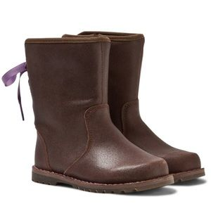 UGG Corene Brown Leather Boots
